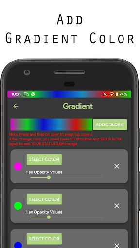 Color status bar - Customized Color & Wallpaper 47 screenshots 6