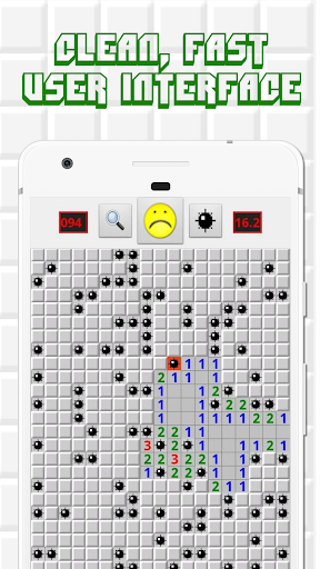 Minesweeper for Android - Free Mines Landmine Game 2.7.6 screenshots 5