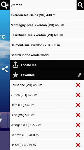 Swiss Weather 1.7.0.19 Screenshots 8