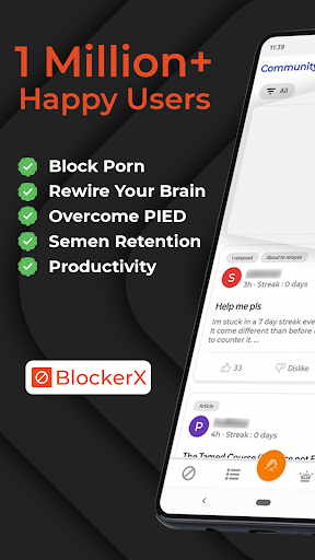 BlockerX - Porn Blocker,Quit Porn & Do Safe Search  Paidproapk.com 1