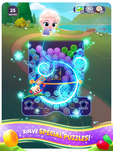 Disney Getaway Blast: Pop & Blast Disney Puzzles screenshots 4