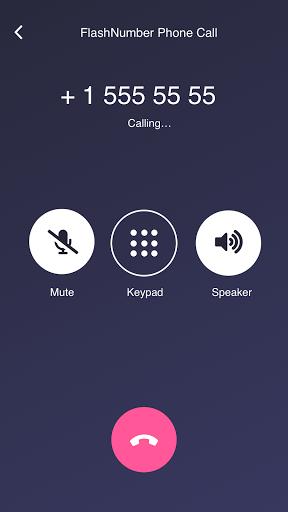 FlashNumber - second phone number  Screenshots 5