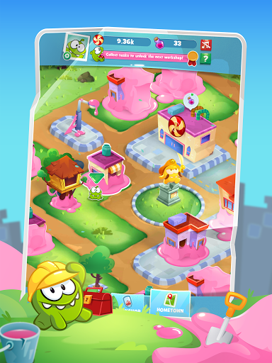 Om Nom Idle Candy Factory android2mod screenshots 6