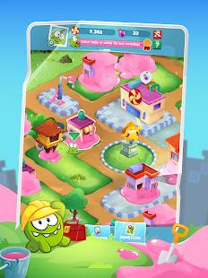 Schermata di Om Nom Idle Candy Factory