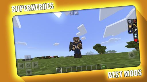 Avengers Superheroes Mod for Minecraft PE - MCPE 2.2.0 Screenshots 7