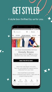 thredUP | Thrift & Sell Women's & Kids' Clothing Screenshot