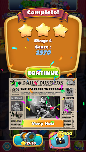 Jewel Dungeon - Match 3 Puzzle 1.0.99 screenshots 6