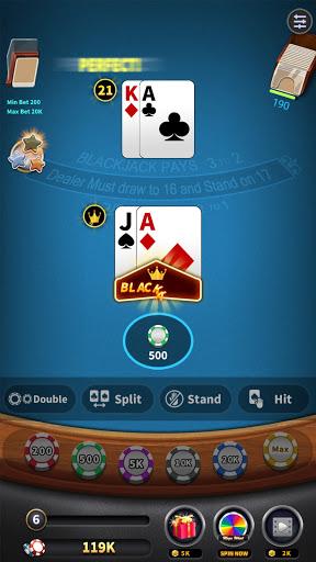 BlackJack 21 - blackjack free offline games 1.5.2 screenshots 3