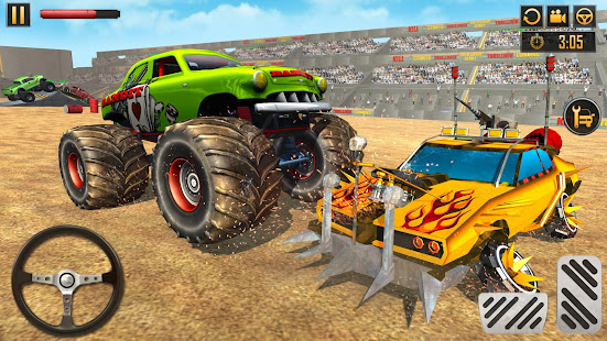 Police Demolition Derby Monster Truck Crash Games 3.3 APK screenshots 4