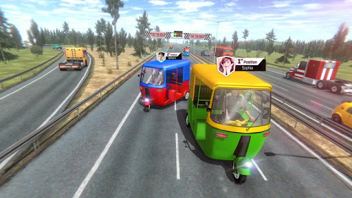 Modern Tuk Tuk Auto Rickshaw: Free Driving Games 1.8.4 Screenshots 14