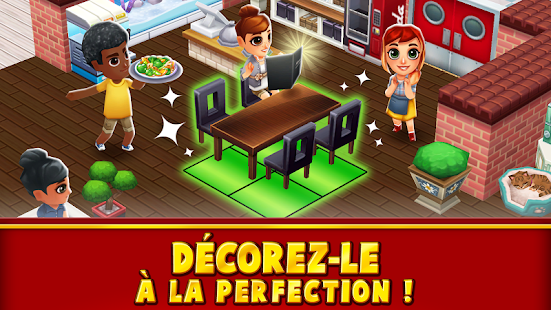 Food Street - Jeu de Restaurant Capture d'écran