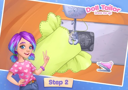 Fashion Dress up games for girls. Sewing clothes 9