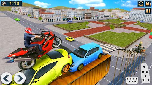 Bike Stunts Race 2021: Free Moto Bike Racing Games apkdebit screenshots 4