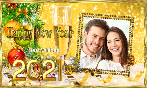 Happy New Year 2021 Photo Frames Greeting Wishes 1.0.1 Screenshots 13