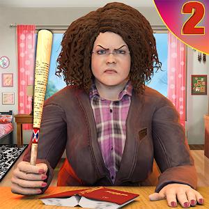 Scary Bad Teacher 3D  House Clash Scary Games