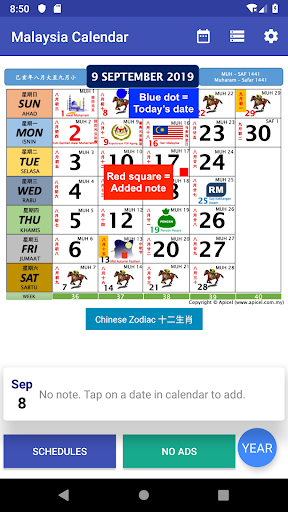Malaysia Calendar 2021 Widget Gaji modavailable screenshots 1