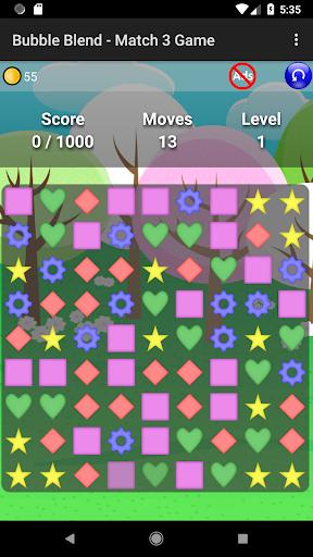Bubble Blend - Match 3 Game  screenshots 1