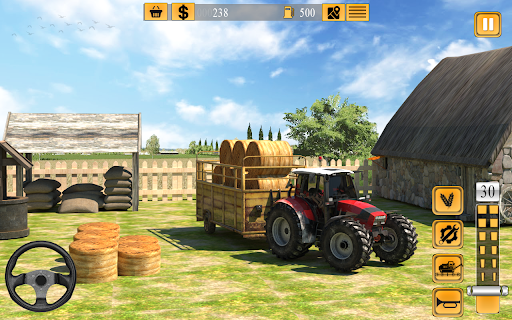 Indian Farmer Tractor Driving - Tractor Game 2020  screenshots 7