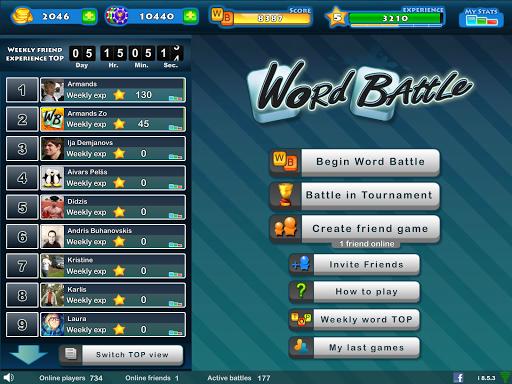 Word Battle 10.5.08 screenshots 9