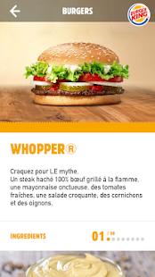 Burger Kingu00ae France u2013 pour les amoureux du burger Apkfinish screenshots 2