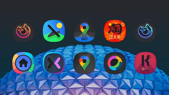 SuperBlack Icon Pack (MOD, Paid) v1.9 4
