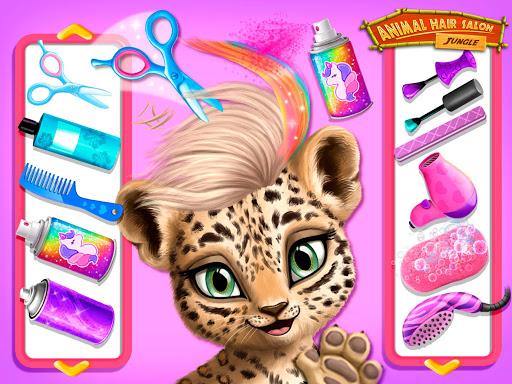 Jungle Animal Hair Salon - Styling Game for Kids 4.0.10018 screenshots 11