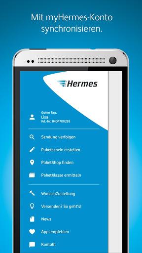 Hermes Paket Versand & Empfang  screenshots 1