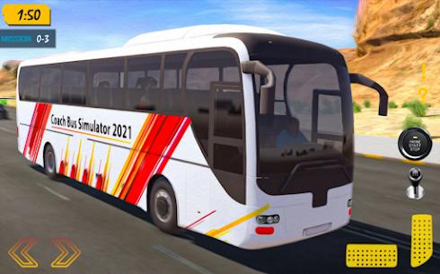 Coach Bus Simulator 2021  City Bus Driving Games Apk 5