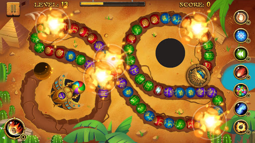 Jungle Marble Blast  screenshots 10