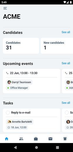 Recruitee 2.4.0 screenshots 1