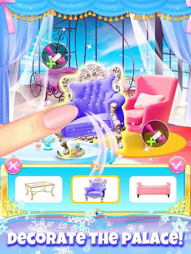 Girl Games: Princess Hair Salon Makeup Dress Up  screenshots 6