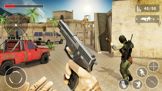 Counter FPS Attack Battle Gun Strike Combat War Hack Online (Android iOS) 2