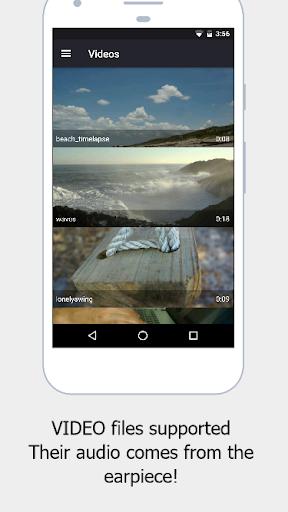 Stealth Audio Player - play audio through earpiece 29 Screenshots 4