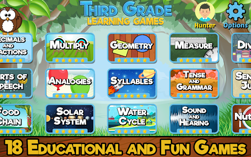 Third Grade Learning Games screenshots 1