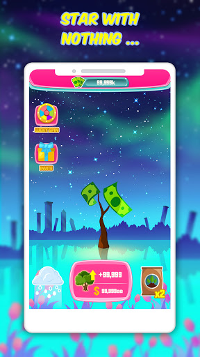 Starry For Cash - Tap To grow  screenshots 1