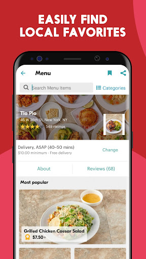Seamless: Restaurant Takeout & Food Delivery App 7.131 screenshots 4