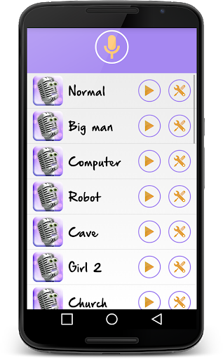 Change your voice! Voice changer for free  screenshots 7