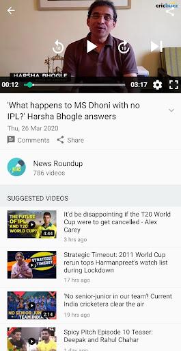 Cricbuzz - Live Cricket Scores & News  Screenshots 6