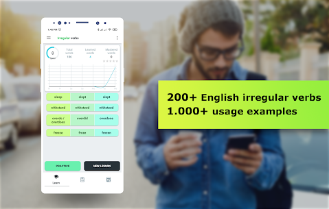 English Irregular Verbs. Learn English Words v1.1.1 [PRO] by Smart learning solutions 1