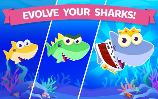 Merge Shark: Cute Fun Evolution Tap Doo  screenshots 7