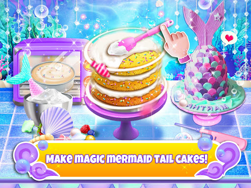 Unicorn Chef: Mermaid Cooking Games for Girls 2.2 screenshots 14