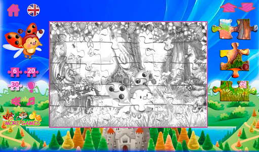 Puzzles from fairy tales screenshots 15