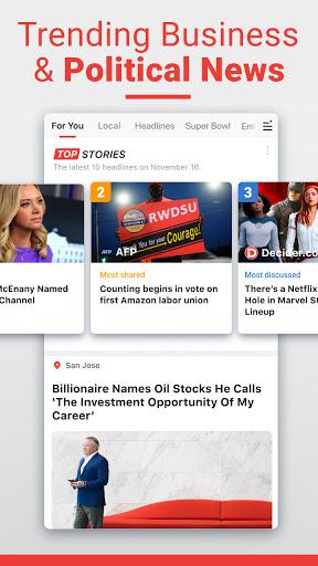 News Break: Local Breaking Stories & US Headlines  Screenshots 4