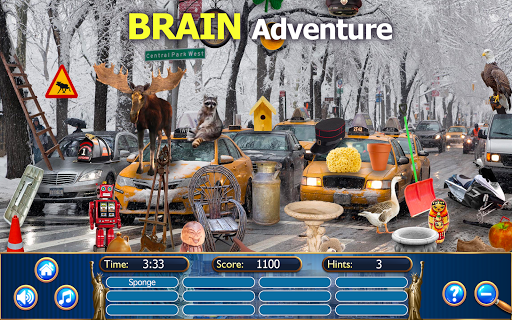 Hidden Objects New York City Puzzle Object Game  screenshots 5
