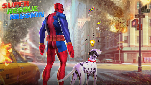 Police Speed Hero Robot Superhero Rescue Mission  screenshots 1