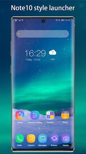 Cool Note10 Launcher for Galaxy Note,S,A -Theme UI 7.7 screenshots 1