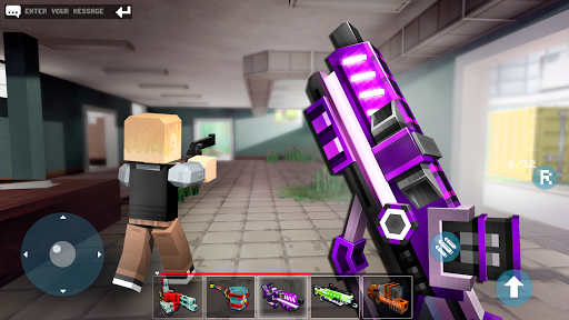 Code Triche Mad GunZ - jeux en ligne & battle royale APK MOD (Astuce) screenshots 5