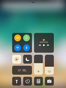 Control Center iOS 15