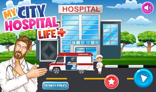 My Pretend Play Hospital Games: Doctor Town Life  screenshots 1