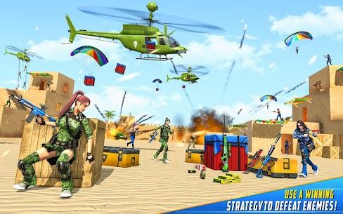 Real Commando Shooting Strike Mod Apk (God Mode/Dumb Enemy) 9